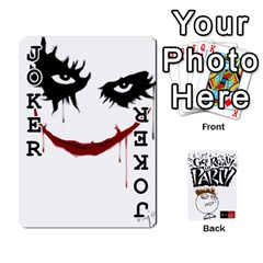 Beber By Rodrigo   Playing Cards 54 Designs   Lrwos3wfoc5o   Www Artscow Com Front - Joker1