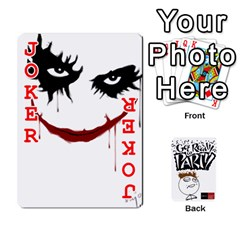 Beber By Rodrigo   Playing Cards 54 Designs   Lrwos3wfoc5o   Www Artscow Com Front - Joker2