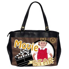 Movie Star By M Jan   Oversize Office Handbag (2 Sides)   Z42npza4gmqn   Www Artscow Com Back