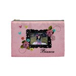 (M) Cosmetic Bag :  Sweet Bianca - Cosmetic Bag (Medium)