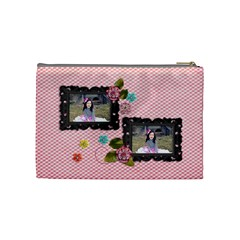 (m) Cosmetic Bag :  Sweet Bianca By Jennyl   Cosmetic Bag (medium)   I9mrhe3u8wdt   Www Artscow Com Back