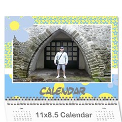 Happy Days Calendar (any Year) By Deborah   Wall Calendar 11  X 8 5  (12 Months)   9pzstgrhsjse   Www Artscow Com Cover