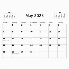 Happy Days Calendar (any Year) By Deborah   Wall Calendar 11  X 8 5  (12 Months)   9pzstgrhsjse   Www Artscow Com May 2018