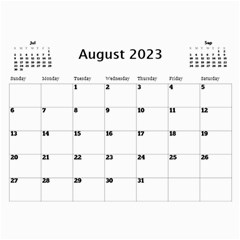 Happy Days Calendar (any Year) By Deborah   Wall Calendar 11  X 8 5  (12 Months)   9pzstgrhsjse   Www Artscow Com Aug 2018