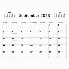 Happy Days Calendar (any Year) By Deborah   Wall Calendar 11  X 8 5  (12 Months)   9pzstgrhsjse   Www Artscow Com Sep 2018