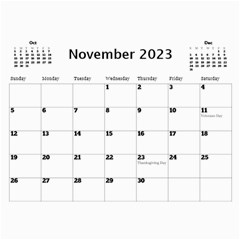 Happy Days Calendar (any Year) By Deborah   Wall Calendar 11  X 8 5  (12 Months)   9pzstgrhsjse   Www Artscow Com Nov 2018