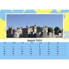Happy Days Desktop Calendar (any Year) 8 5x6 By Deborah   Desktop Calendar 8 5  X 6    Hplk4umzimrn   Www Artscow Com Aug 2017