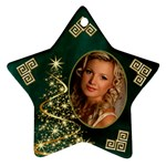 My Sparkle of Christmas Star Ornament - Ornament (Star)