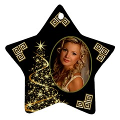Sparkle Of Christmas Star Ornament (2 Sided) By Deborah   Star Ornament (two Sides)   Qym5yxcutjyz   Www Artscow Com Front