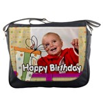 happy birthday - Messenger Bag