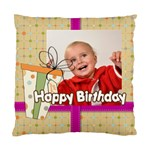 happy birthday - Standard Cushion Case (One Side)