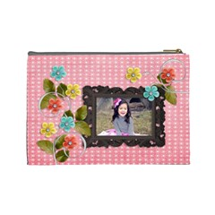 Cosmetic Bag (l) : Days Of Summer 2 By Jennyl   Cosmetic Bag (large)   Qki60nnhucn0   Www Artscow Com Back