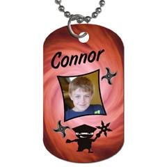 Redninjatag1 By Lmw   Dog Tag (two Sides)   03s2k2gw0ypy   Www Artscow Com Front