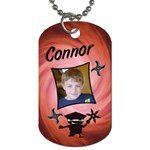 RedNinjaTag1 - Dog Tag (Two Sides)