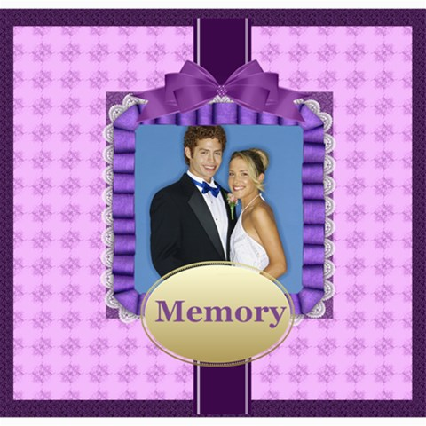 Memory By Joely   Scrapbook Page 8  X 8    Bxeou1ua5kjg   Www Artscow Com 8 x8 Scrapbook Page - 1