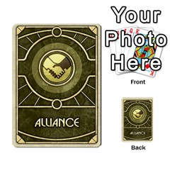 Dunealliance By Russell Khater   Multi Purpose Cards (rectangle)   Iz4nn7ovyd9h   Www Artscow Com Front 9