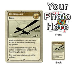 Dunealliance By Russell Khater   Multi Purpose Cards (rectangle)   Iz4nn7ovyd9h   Www Artscow Com Back 43