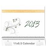 Calendar2013 - Wall Calendar 11  x 8.5  (12-Months)