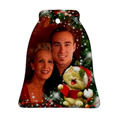 Sing Merry Christmas Bell Ornament (2 Sided) By Deborah   Bell Ornament (two Sides)   Om9rv767arf2   Www Artscow Com Back