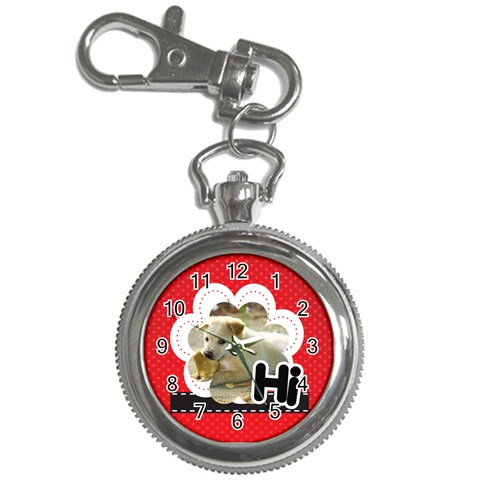 Hi By Divad Brown   Key Chain Watch   Meokzyyaj0rw   Www Artscow Com Front