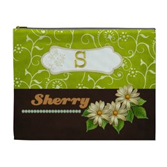 Whats This Look Like For Sherri By James Srna   Cosmetic Bag (xl)   Bj0qi9sjmgt3   Www Artscow Com Front