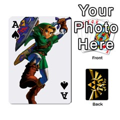 Ace Zelda By Cheesedork   Playing Cards 54 Designs   Xocoxcamh6mu   Www Artscow Com Front - SpadeA