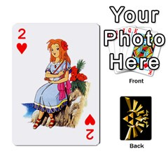 Zelda By Cheesedork   Playing Cards 54 Designs   Xocoxcamh6mu   Www Artscow Com Front - Heart2