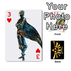 Zelda By Cheesedork   Playing Cards 54 Designs   Xocoxcamh6mu   Www Artscow Com Front - Heart3