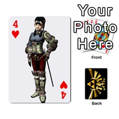 Zelda By Cheesedork   Playing Cards 54 Designs   Xocoxcamh6mu   Www Artscow Com Front - Heart4