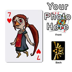 Zelda By Cheesedork   Playing Cards 54 Designs   Xocoxcamh6mu   Www Artscow Com Front - Heart7