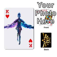 King Zelda By Cheesedork   Playing Cards 54 Designs   Xocoxcamh6mu   Www Artscow Com Front - HeartK