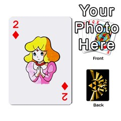 Zelda By Cheesedork   Playing Cards 54 Designs   Xocoxcamh6mu   Www Artscow Com Front - Diamond2