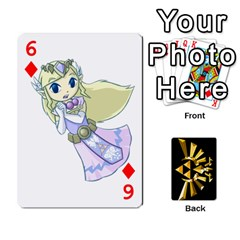 Zelda By Cheesedork   Playing Cards 54 Designs   Xocoxcamh6mu   Www Artscow Com Front - Diamond6