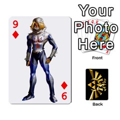 Zelda By Cheesedork   Playing Cards 54 Designs   Xocoxcamh6mu   Www Artscow Com Front - Diamond9