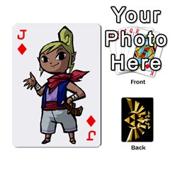 Jack Zelda By Cheesedork   Playing Cards 54 Designs   Xocoxcamh6mu   Www Artscow Com Front - DiamondJ