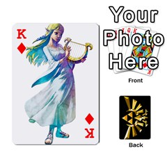 King Zelda By Cheesedork   Playing Cards 54 Designs   Xocoxcamh6mu   Www Artscow Com Front - DiamondK