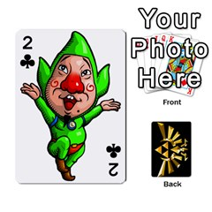Zelda By Cheesedork   Playing Cards 54 Designs   Xocoxcamh6mu   Www Artscow Com Front - Club2