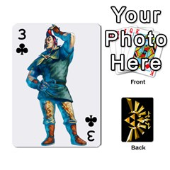 Zelda By Cheesedork   Playing Cards 54 Designs   Xocoxcamh6mu   Www Artscow Com Front - Club3