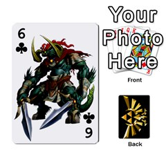 Zelda By Cheesedork   Playing Cards 54 Designs   Xocoxcamh6mu   Www Artscow Com Front - Club6