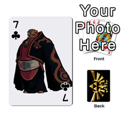Zelda By Cheesedork   Playing Cards 54 Designs   Xocoxcamh6mu   Www Artscow Com Front - Club7