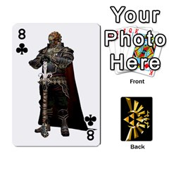 Zelda By Cheesedork   Playing Cards 54 Designs   Xocoxcamh6mu   Www Artscow Com Front - Club8