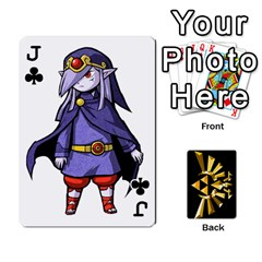 Jack Zelda By Cheesedork   Playing Cards 54 Designs   Xocoxcamh6mu   Www Artscow Com Front - ClubJ