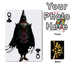 Queen Zelda By Cheesedork   Playing Cards 54 Designs   Xocoxcamh6mu   Www Artscow Com Front - ClubQ