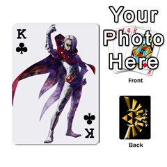 King Zelda By Cheesedork   Playing Cards 54 Designs   Xocoxcamh6mu   Www Artscow Com Front - ClubK