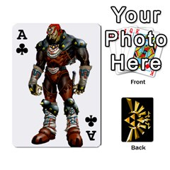 Ace Zelda By Cheesedork   Playing Cards 54 Designs   Xocoxcamh6mu   Www Artscow Com Front - ClubA