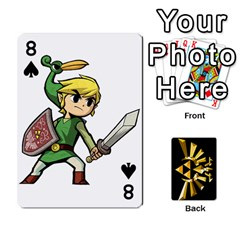 Zelda By Cheesedork   Playing Cards 54 Designs   Xocoxcamh6mu   Www Artscow Com Front - Spade8