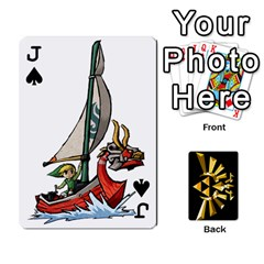 Jack Zelda By Cheesedork   Playing Cards 54 Designs   Xocoxcamh6mu   Www Artscow Com Front - SpadeJ