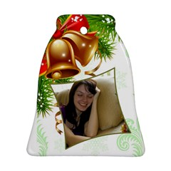 Bell Bell Ornament (2 Sided) By Deborah   Bell Ornament (two Sides)   Jjpqaldshvmp   Www Artscow Com Front