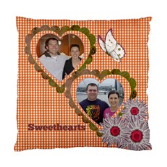 Sweethearts Cushion Case (2 Sided) By Deborah   Standard Cushion Case (two Sides)   D6teqc7ng19v   Www Artscow Com Back