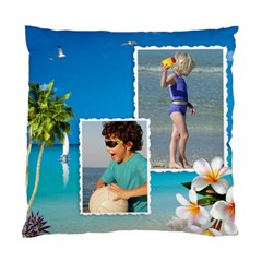 Beach House Cushion Case (2 Sided) By Deborah   Standard Cushion Case (two Sides)   J59ug0ehx30t   Www Artscow Com Back
